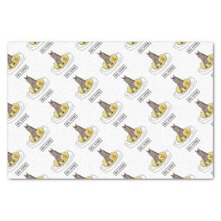 Seepferd Seidenpapier