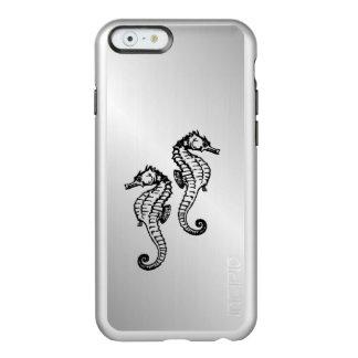 Seepferd-Silber Incipio Feather® Shine iPhone 6 Hülle