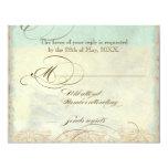 Seepferdeküstenstrand - Hochzeits-Einladung 10,8 X 14 Cm Einladungskarte