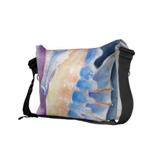 Seepferdwatercolor-Kunst Kuriertasche