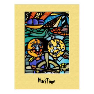 Seepostkarte Postkarte