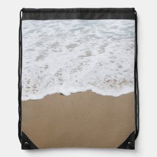 Seeschaum, Ozean-Wellen Turnbeutel