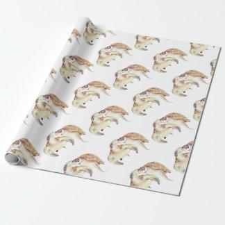 Seeschildkröte-Liebe Geschenkpapier