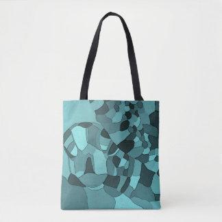 Seeschildkröte-Mosaik-Taschen-Tasche Tasche