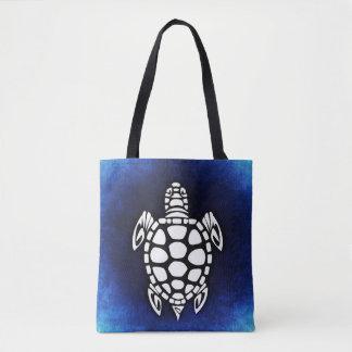 Seeschildkröte-Ozean-Blau-Taschen-Tasche Tasche