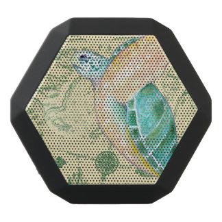 Seeschildkröte-TAN-Karte Vintag Schwarze Bluetooth Lautsprecher