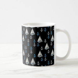 Seesegel-Boots-und Anker-Tasse Tasse