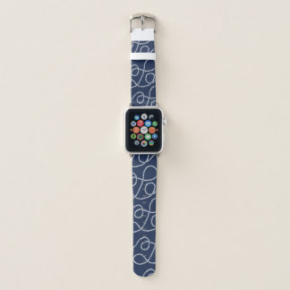 Seeseil-Muster Apple Watch Armband