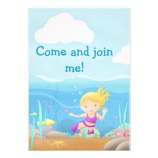 Seeseitenspaß - Party lädt ein Einladungen