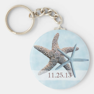 Seestern-Gastgeschenk Hochzeit Keychain Schlüsselanhänger