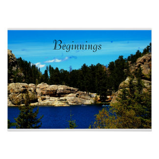 Seesylvan-Plakat von South Dakota/motivierend Poster