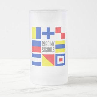 SeeTasse - wählen Sie Art u. Farbe Mattglas Bierglas