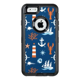 Seethema-Muster 1 OtterBox iPhone 6/6s Hülle