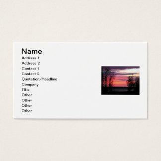 Seeufer-Geschäft Visitenkarte