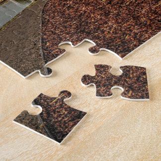 Seeufer-Weg dem Puzzlespiel an der Dämmerungs-3 Puzzle