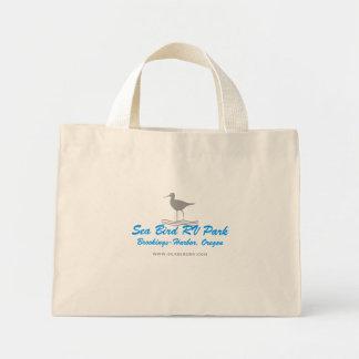 Seevogel RV-Leinwand-Tasche Mini Stoffbeutel