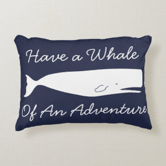 Seewal-Abenteuer u. Anker Dekokissen