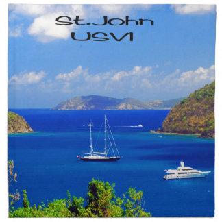 Segel-Boote bei Johannes Serviette