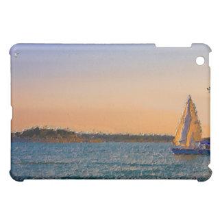 Segel im Sonnenuntergang iPad Mini Hülle