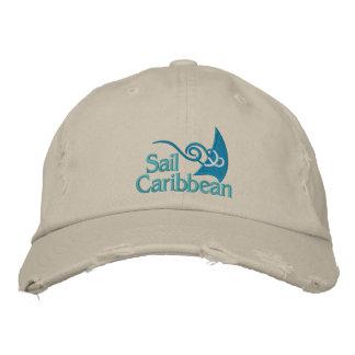 Segel-Meer-Kappe Bestickte Mützen