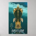 Segel Neptun Posterdrucke