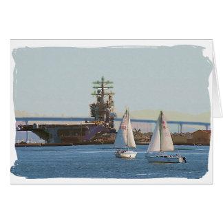 Segel San Diego Karte