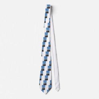 Segel-Schiff VOC Amsterdams hölzernes - Strecke Bedruckte Krawatte