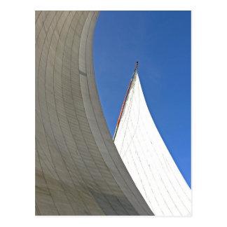 Segel weg (2) postkarte