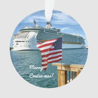 Segel-Weg fröhliches Cruisemas Ornament