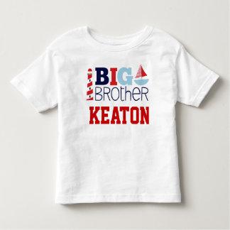 Segel-weg großer Bruder-nautischT - Shirt