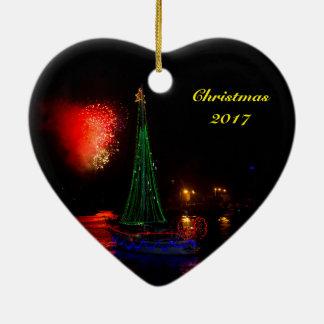 Segelboot 2017 und keramik ornament