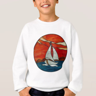 Segelboot am sweatshirt