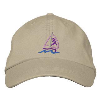 Segelboot Besticktes Baseballcap