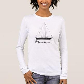 Segelboot Hallberg-Rassy Monsun 31 Langarm T-Shirt