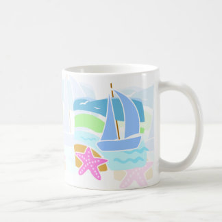 Segelboot Kaffeetasse