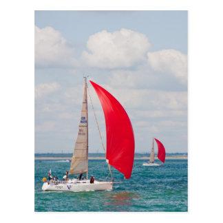 Segelboot Postkarten