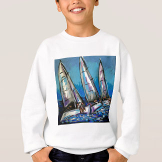 Segelboot Regatta Sweatshirt