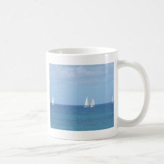 Segelboot-Rennen Kaffeetasse