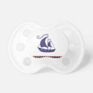 Segelboot Schnuller