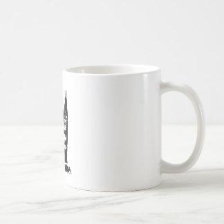 Segelboot-Silhouette Kaffeetasse