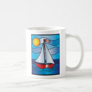 Segelboot Tasse