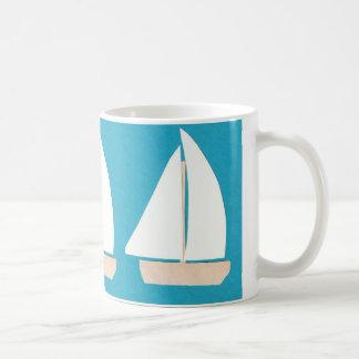 Segelboot-Tasse Kaffeetasse