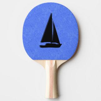 Segelboot Tischtennis Schläger