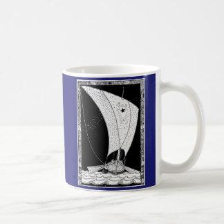 Segelboot Vikings Longship Kaffeetasse