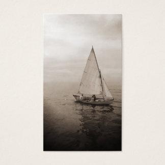 Segelboot-Visitenkarten Visitenkarte