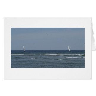 Segelboote im Wind Karte