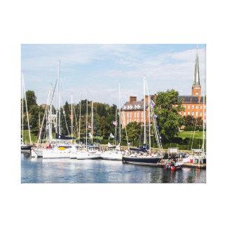 Segelboote in Annapolis Maryland Leinwanddruck