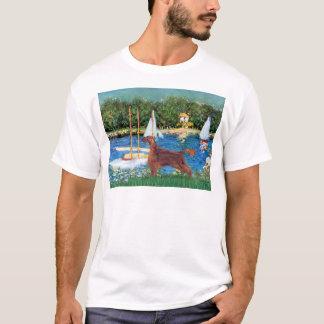 Segelboote - Irischer Setter 1 T-Shirt