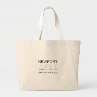 Segelboote Newports Rhode Island Jumbo Stoffbeutel