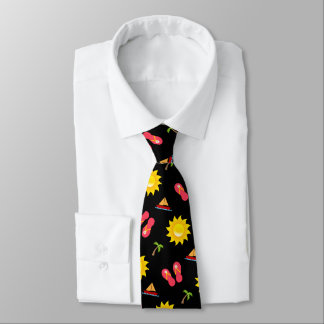 Segelbootsun-Sandale-Ferien Krawatte